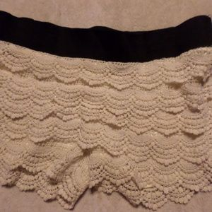 Limonata knitted shorts
